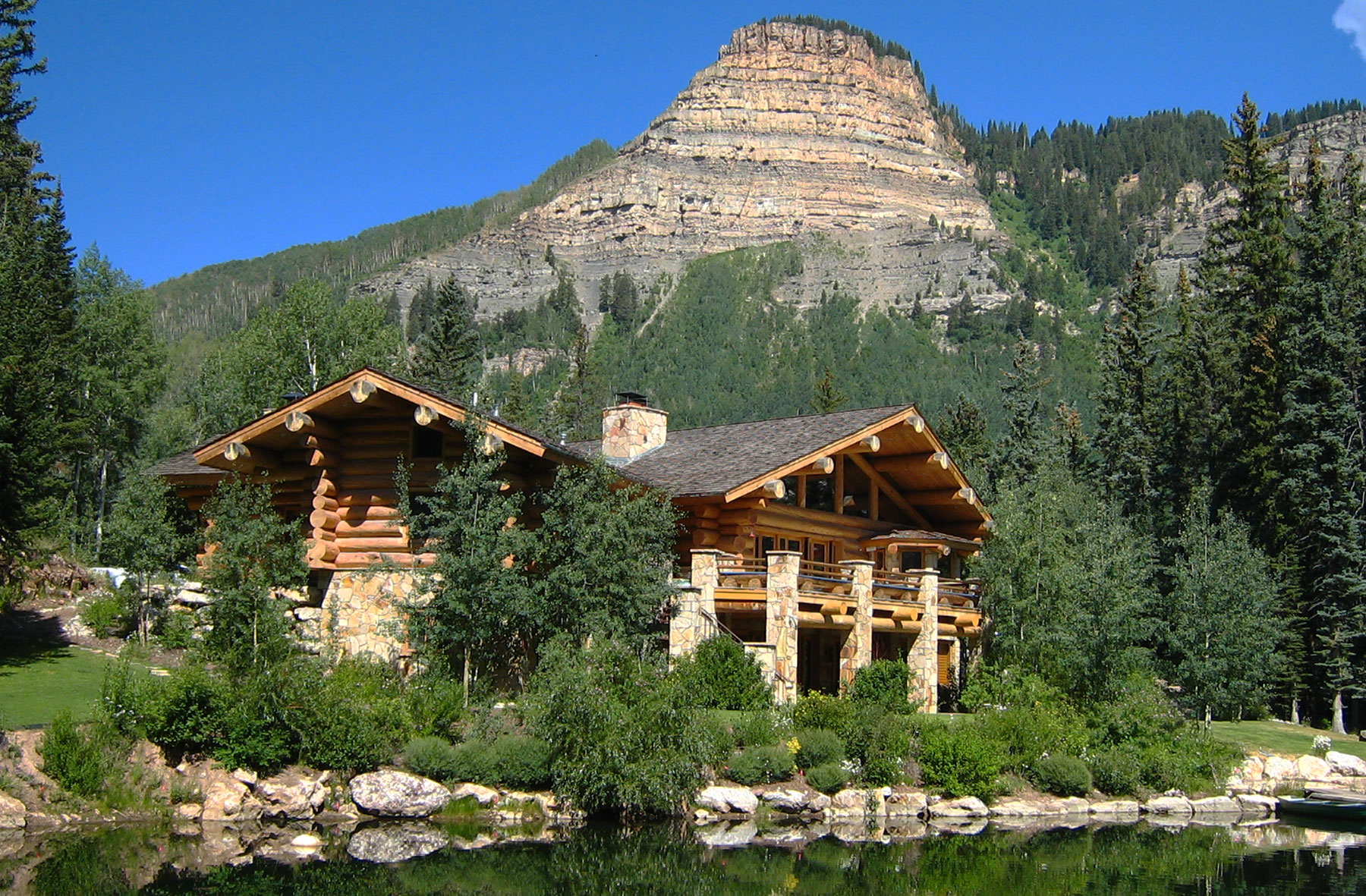 Log Home Builders in Durango, Colorado - San Juan Structures